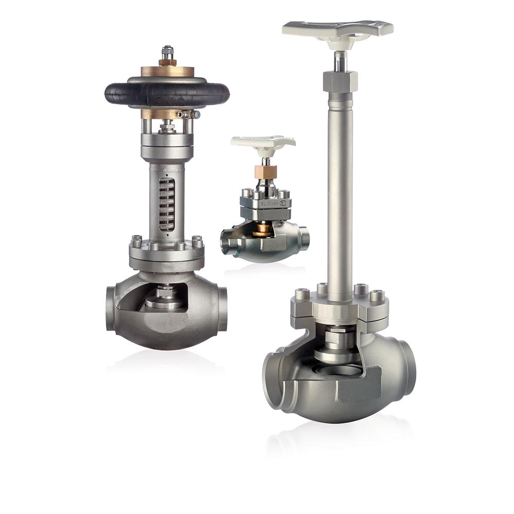 Cryo-valves